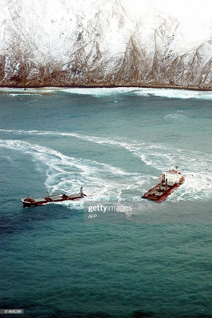 This 13 December, 2004 US Coast Guard im : News Photo