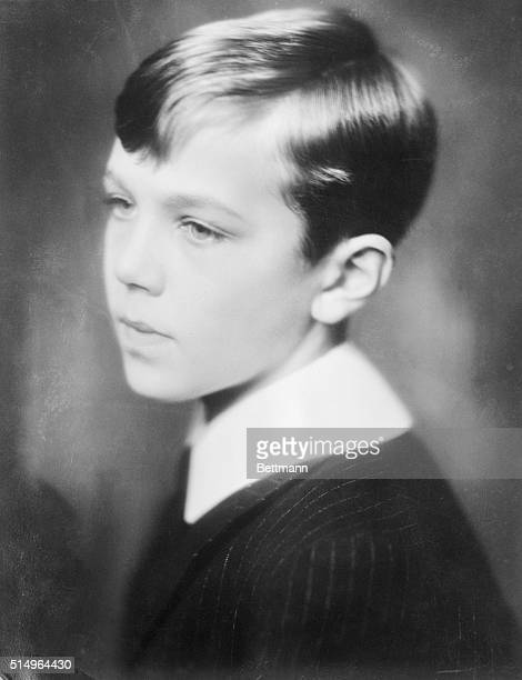 This 14 year old prince is Bertil Gustav Oscar Carl Eugene, duke of Halland and is still a pupil in the same school as his elder brother Sigvard.