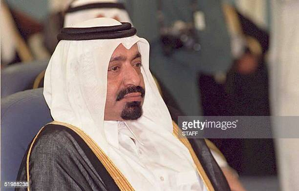 This 19 December 1988 file photo shows the Emir of Qatar Khalifa bin Hamad alThani The official QNA news agency reported 27 June that the Emir has...