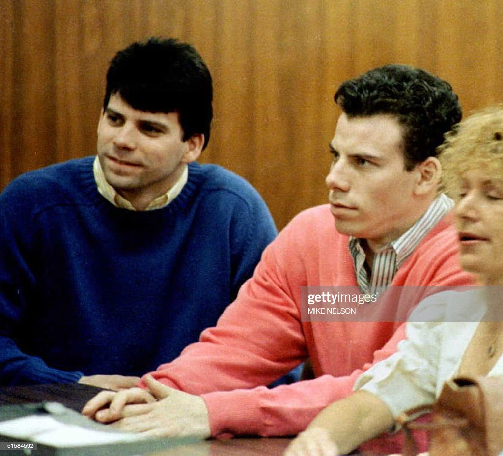 This 1992 file photo shows double murder defendant : News Photo