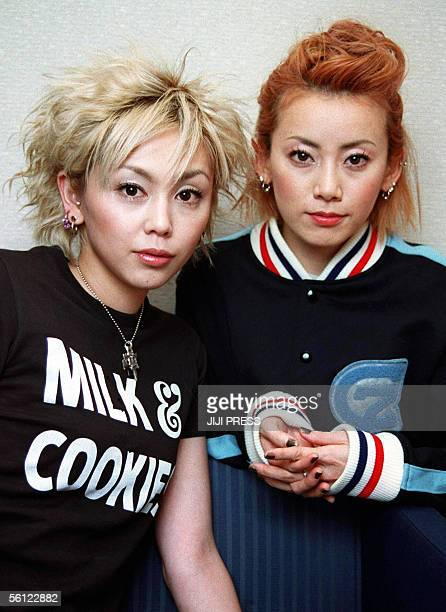 PEOPLE This 22 March 2001 file picture shows Japanese female pop duo Puffy Yumi Yoshimura and Ami Onuki After singing bubblegum numbers in Japan for...