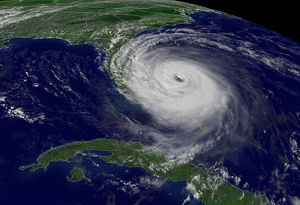 USA: 23rd September 2004 - Hurricane Jeane Hits Caribbean Killing Over 3,000 People