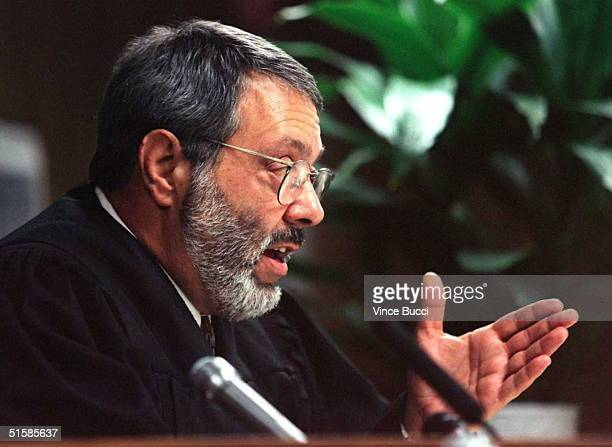 This 26 June file photo shows Santa Monica Superior Court Judge Alan Haber who was dismissed 17 July as trial judge in the wrongful death lawsuit...