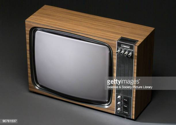 This 625line model with a hybrid valve/transistor has a 21 inch screen It was produced by British firm Ferguson which was taken over by ThornEMI who...