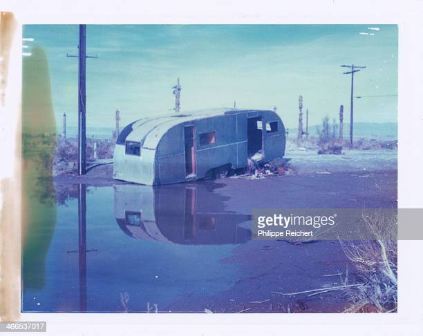 CONTENT] This abandoned trailer is located in Peyton Shores Salton Sea California Once a vacation spot the place was abandoned after a sudden...