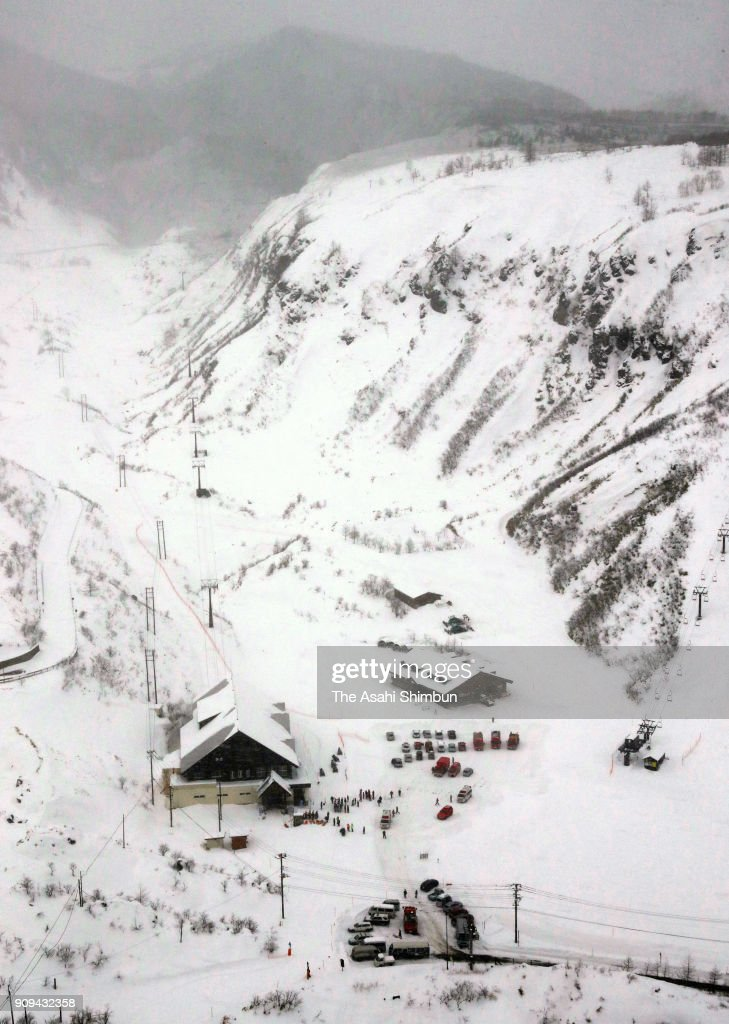 Volcano Triggers Avalanche Killing One Injuring Dozen In Japanese Snow Resort