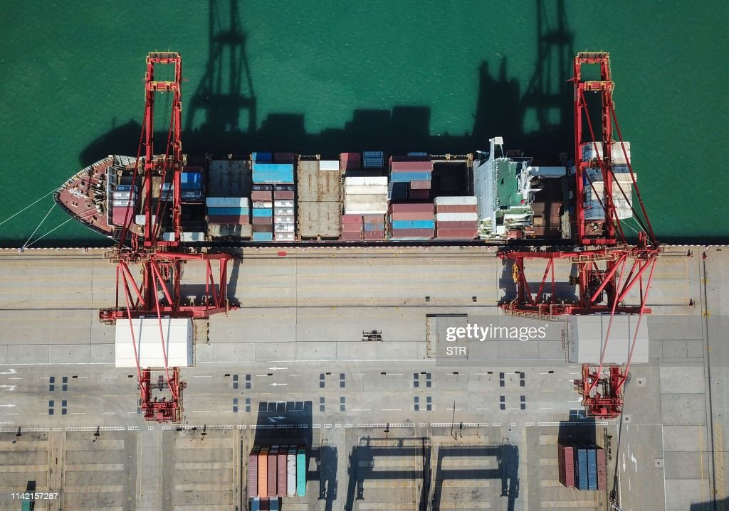 CHINA-ECONOMY-TRADE : News Photo