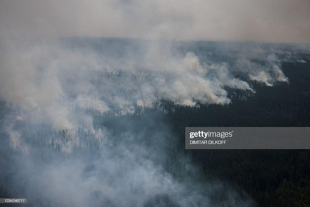 RUSSIA-FIRE-ENVIRONMENT : News Photo