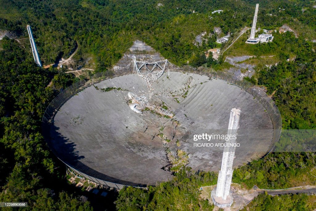 PUERTORICO-SCIENCE-ASTRONOMY-OBSERVATORY-US-science-astronomy : News Photo
