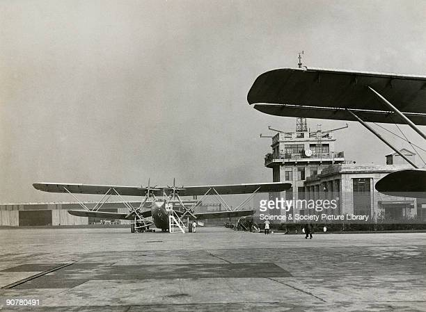 This aircraft was wrecked in a forced landing in Devon in 1939. The Handley Page HP42 was the most famous Imperial Airways airliner of the period. It...