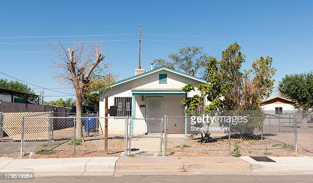 This Albuquerque location seen on August 31 2013 in Albuquerque New Mexico was used as Combo's house in 'Breaking Bad' Season 3 episode 'Mas' Jesse...
