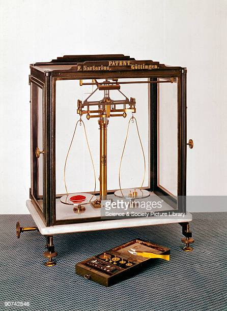 This balance made by Florenz Sartorius can distinguish weights between samples which differ by as little as one part in a million Sartorius founded...