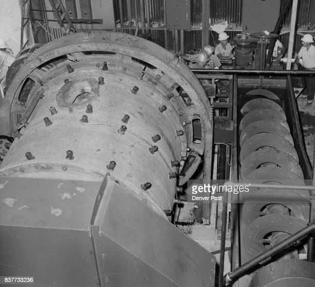 This ball mill and classifier will pulverize and prepare front range uranium ***** for treatment in the new Cotter Corp Pilot mill at Canon City Colo...