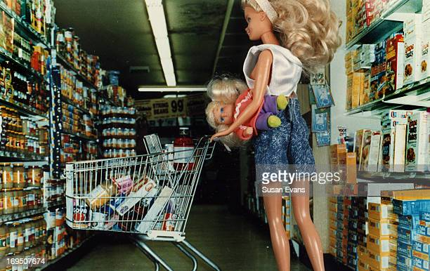 CONTENT] This Barbie is having some real life problem negotiating the grocery store with her infant child just like a real woman does This image is...