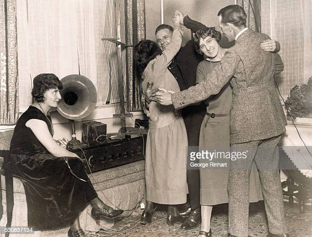 This being 'Radio Week' with music being carried across the other from American to England and vice versa Mrs Arthur Lynch wife of the editor of...