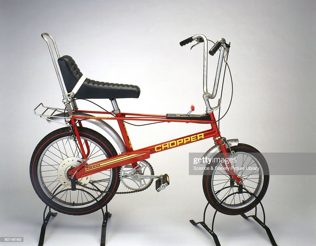 This bicycle, made by T I Raleigh Industries Ltd at the Lenton