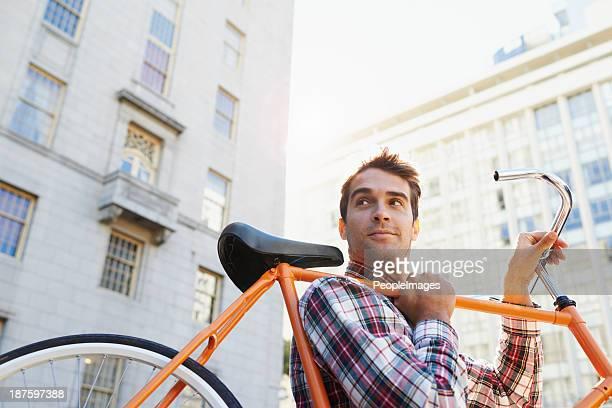 Das Rad macht mich überall!
