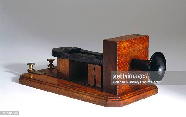 This box telephone which was previously used at Lloyds Signal station in Crookhaven represents one of Alexander Graham Bell's earliest efforts to...