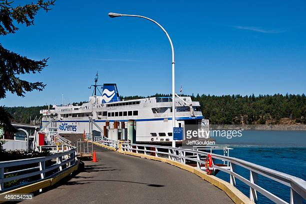 Ferry at the Long Harbor Terminal
