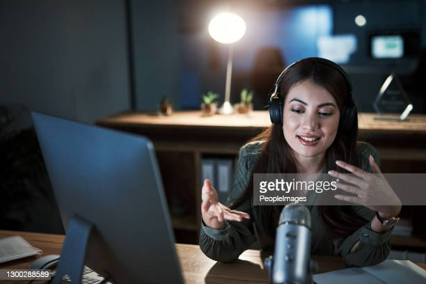 this broadcast is about something very dear to my heart - interview stock pictures, royalty-free photos & images