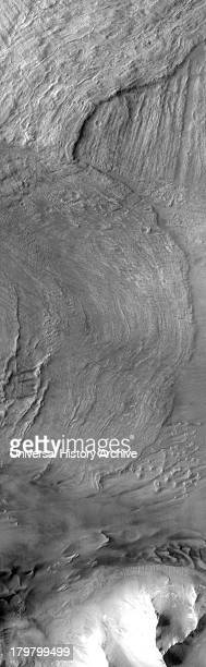 This canyon system Valles Marineris was named in honor of its discoverer Mariner 9 Melas Chasma is shown in the image