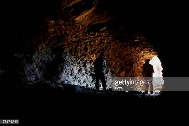 This cave in the Tora Bora Mountain is Bin Laden's last known house on July 2004 in Afghanistan