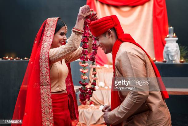 this ceremony is the meeting of two souls - indian wedding stock pictures, royalty-free photos & images