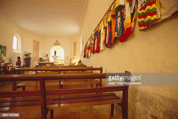This chapel was dedicated to the Virgo patronize cyclists by Pope John XXIII in 1958 Since this date this chapel was converted into a cycling museum...