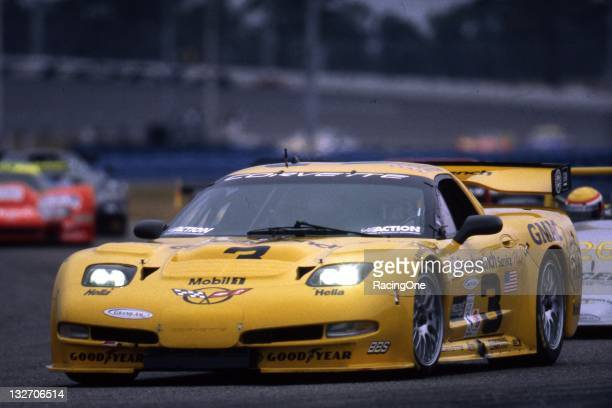 This Chevrolet Corvette was driven at Daytona International Speedway in the Rolex 24 at Daytona by Dale Earnhardt Sr Dale Earnhardt Jr Andy Pilgrim...