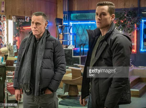 D This City Episode 618 Pictured Jason Beghe as Sgt Hank Voight Jesse Lee Soffer as Det Jay Halstead