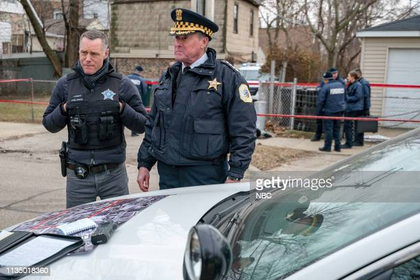 D This City Episode 618 Pictured Jason Beghe as Sgt Hank Voight John C McGinley as Brian Kelton