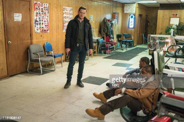 D This City Episode 618 Pictured Jesse Lee Soffer as Det Jay Halstead Dre Marquis as Eric Wilson Rolando Boyce as Eddie Brackton