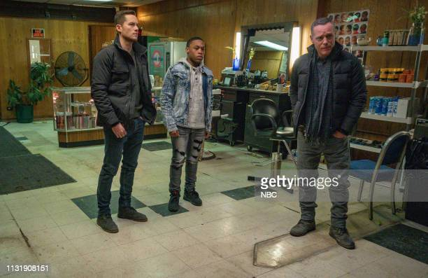 D This City Episode 618 Pictured Jesse Lee Soffer as Det Jay Halstead Dre Marquis as Eric Wilson Jason Beghe as Sgt Hank Voight