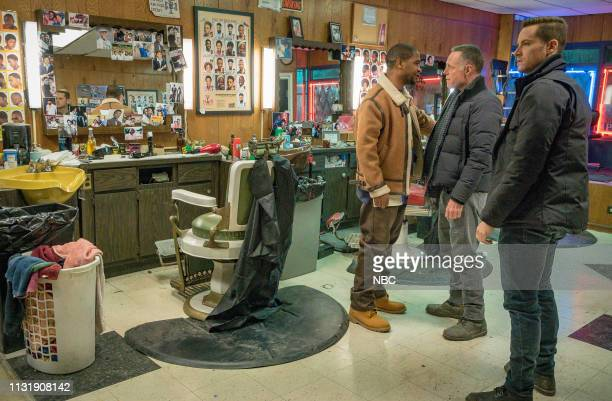 D This City Episode 618 Pictured Rolando Boyce as Eddie Brackton Jason Beghe as Sgt Hank Voight Jesse Lee Soffer as Det Jay Halstead