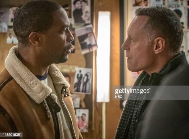 D This City Episode 618 Pictured Rolando Boyce as Eddie Brackton Jason Beghe as Sgt Hank Voight