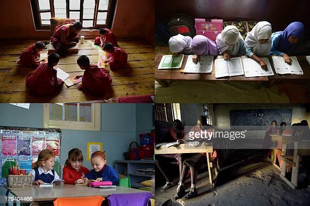 http//wwwimageforumdiffusionafpcom/ImfDiffusion/themes/ShowThemeaspxThemeID=3103846chgCtx=1mui=1 This combination of four pictures shows children in...