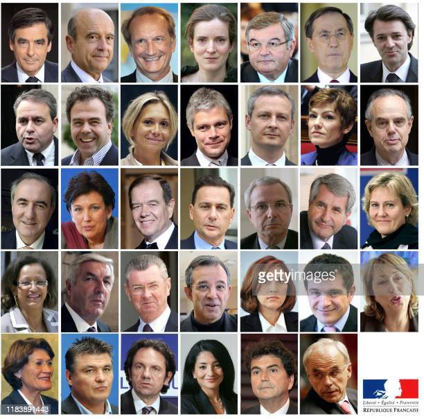 This combination of members of the French government after the cabinet reshuffle on June 29, 2011. - Prime minister Francois Fillon, Foreign Affairs...