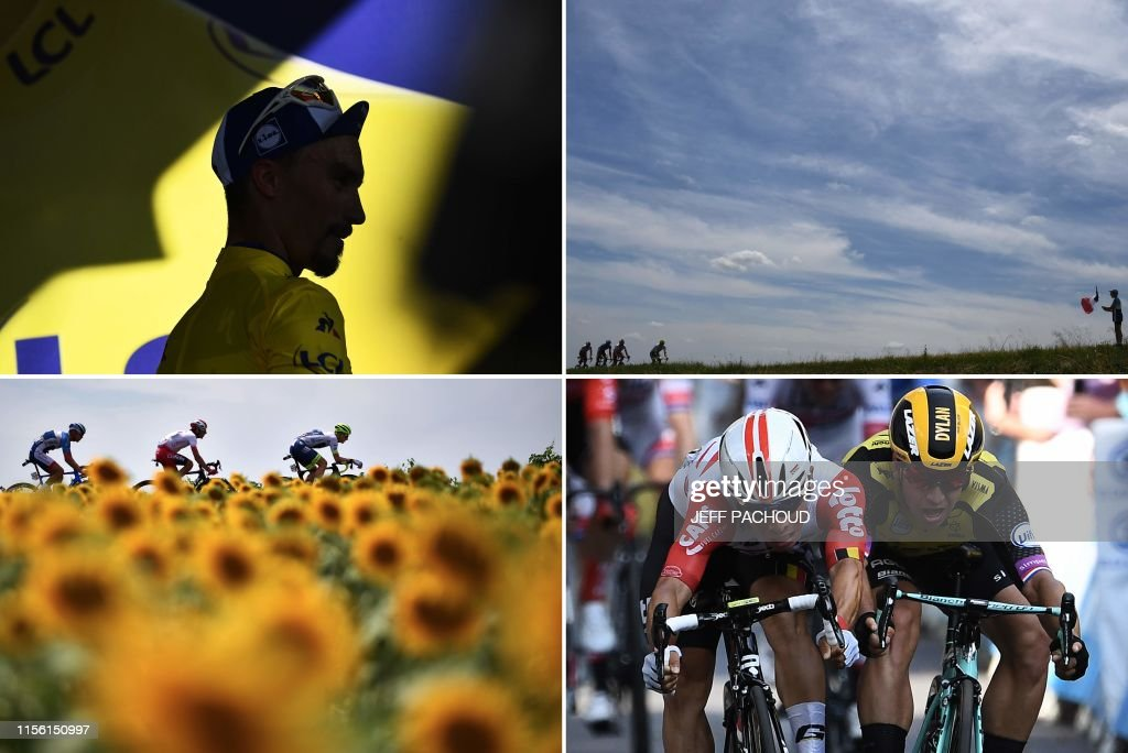 CYCLING-FRA-TDF2019-COMBO : News Photo