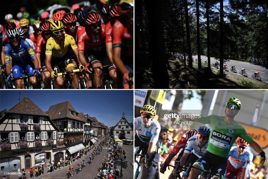 CYCLING-FRA-TDF2019-COMBO : News Photo