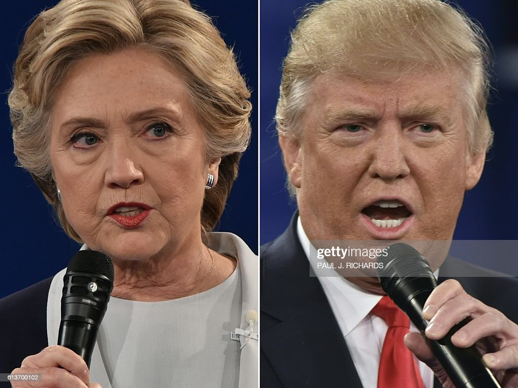 COMBO-US-VOTE-DEBATE : News Photo