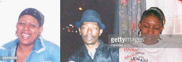 This combination photo shows three handout pictures released by the Metropolitan Police on August 8 2005 of Connie Morrison Noel Patterson and Lorna...