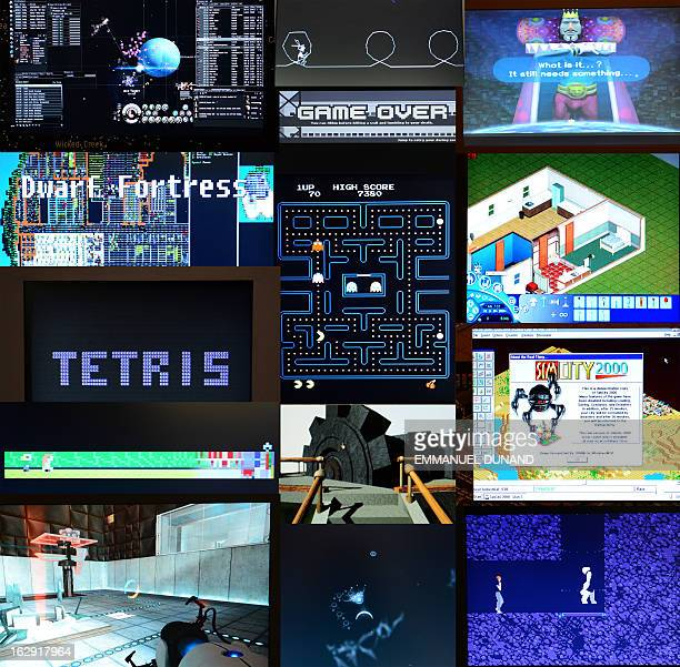 This combo image show the 14 video games acquired by The Museum of Modern Art during an exhbition preview in New York March 1 2013 The MoMA acquired...