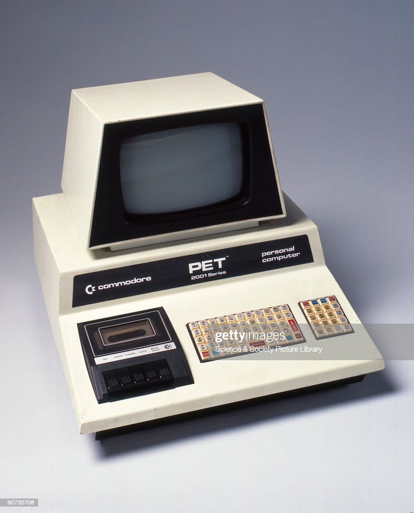 Commodore Pet personal computer, c 1980. Pictures | Getty Images