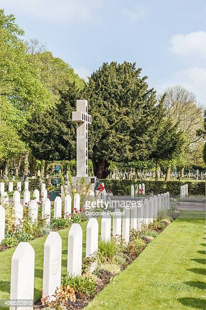 CONTENT] This Commonwealth War Graves cemetery is in Newark Nottinghamshire UK The large cross is the original grave site of General Wladyslaw...