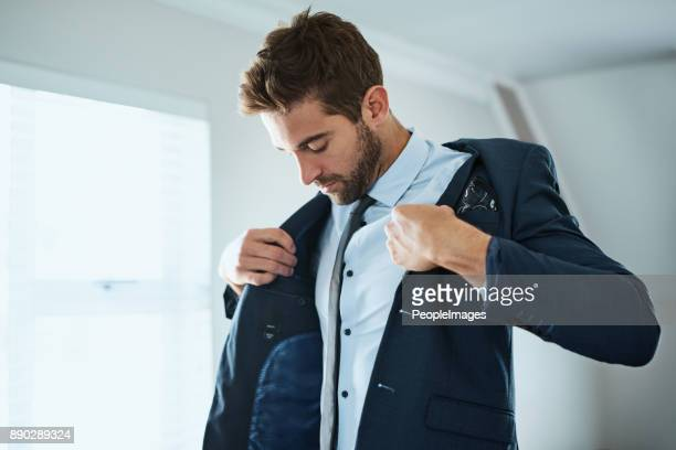 this completes the look - men fashion stock photos and pictures