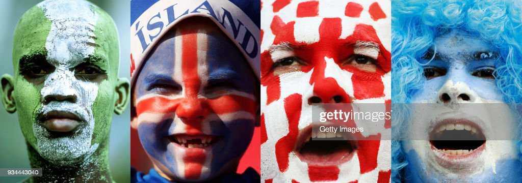 World Cup Russia 2018 - Fans Of The Group D : Fotografía de noticias