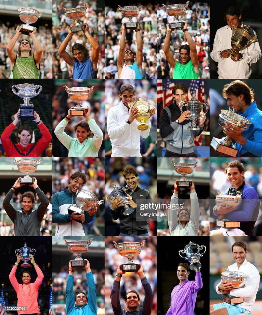 Rafael Nadal 20 Grand Slams : Fotografía de noticias