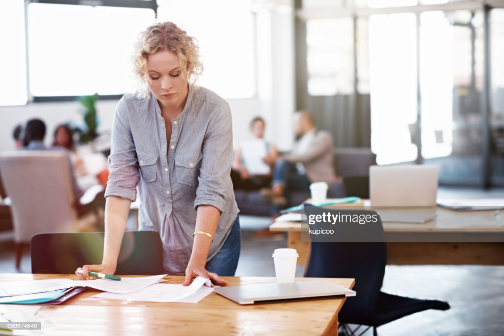 This contract needs to be perfect : Stock Photo