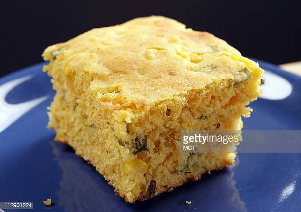 This cornbread recipe can give your soup or chili a kick for less than 4 grams of fat
