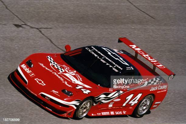 This Corvette ran at Daytona International Speedway in the Rolex 24 at Daytona The car was driven by R K Smith Jeff Nowicki Bill Lester and John...